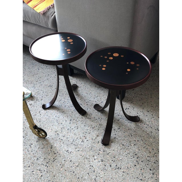 Pair of Dunbar Constellation Tables For Sale In Tampa - Image 6 of 8