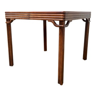 20th Century Hollywood Regency Baker Furniture Dining/Game Table For Sale
