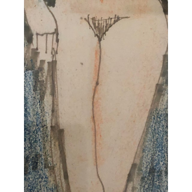 Crayon Milton Avery Nude Drawing For Sale - Image 7 of 13