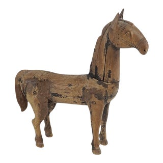 Spanish Carved Horse For Sale