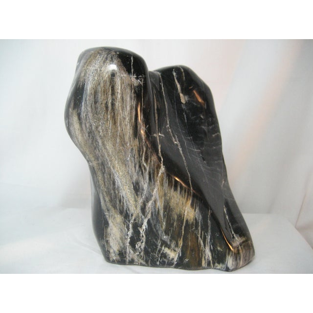 Rustic Petrified Tree Stump For Sale - Image 3 of 6