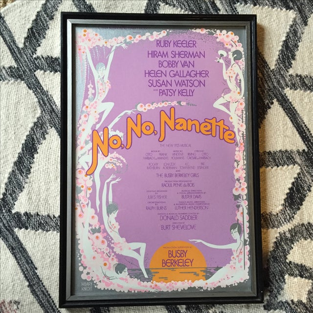 No No Nanette Vintage Poster by Hilary Knight - Image 2 of 5