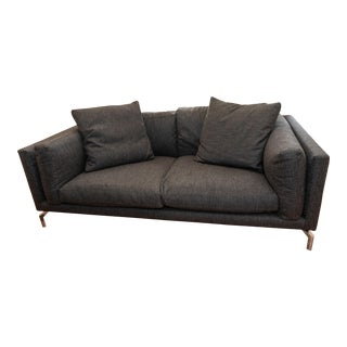 Design Within Reach Como Fabric Sofa For Sale