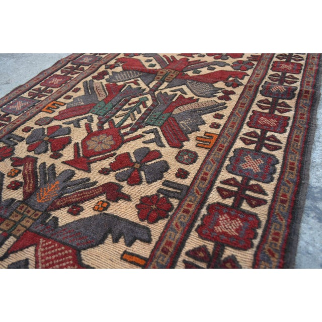 "Vintage Turkish Kilim Rug Runner - 2'7"" x 11'10"" For Sale - Image 4 of 7"
