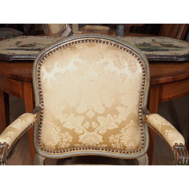 18th Century Set of Six Transition Armchairs Stamped F.Geny For Sale - Image 4 of 11