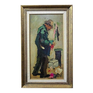 Charles Wilton (Listed 1837-1947) Original Oil Painting on Canvas For Sale