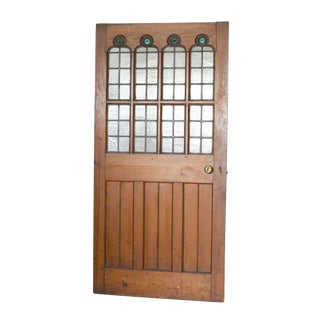 Circa 1860 Gothic Revival Pine Door For Sale