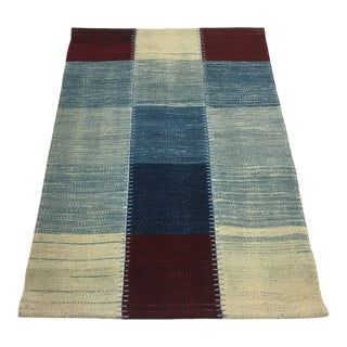 Eclectic Organic Modern Kilim | 2'2 X 3'4 For Sale