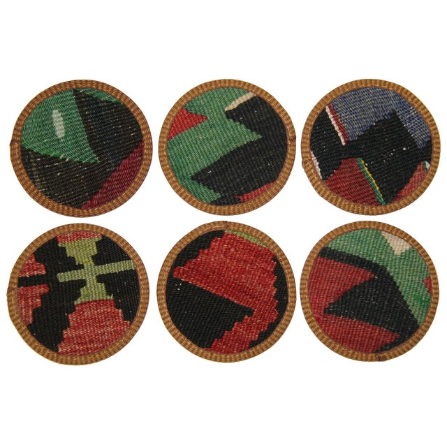 Kilim Coasters, Ünye - 6 - Image 2 of 2