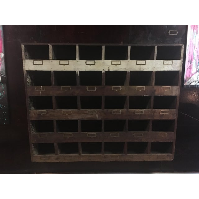Old Hardware Mail Sorter - Image 5 of 5