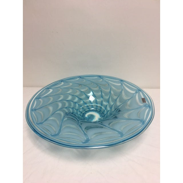 Waterford Evolution Aqua Art Glass Bowl - Image 5 of 8