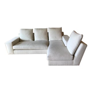 Contemporary Custom Vioski Off-White Salon Sectional