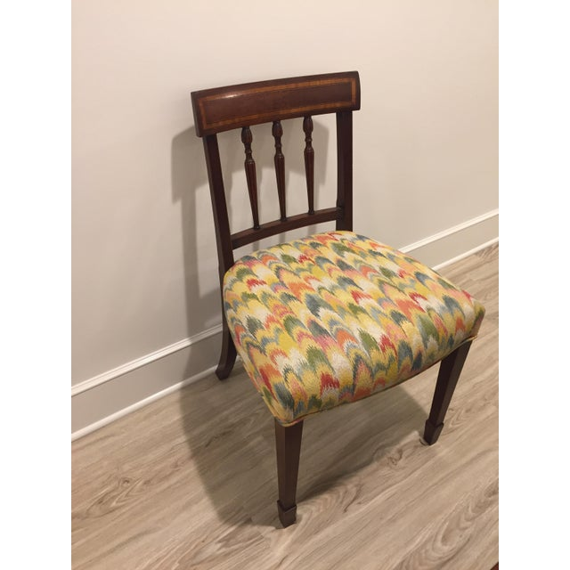 Traditional Sheraton Side Chair For Sale - Image 3 of 7