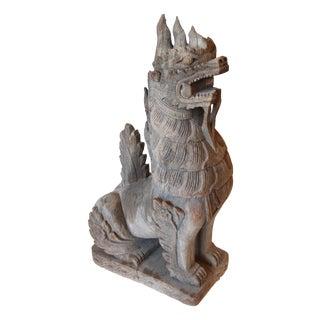 """""""Temple Dog"""" Sculpture"""