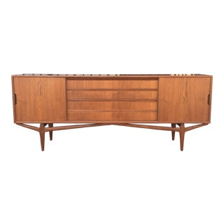 Danish Modern Sculptural Credenza For Sale