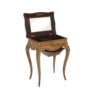 19th Century Louis XV Tahan Kingwood Work Table For Sale
