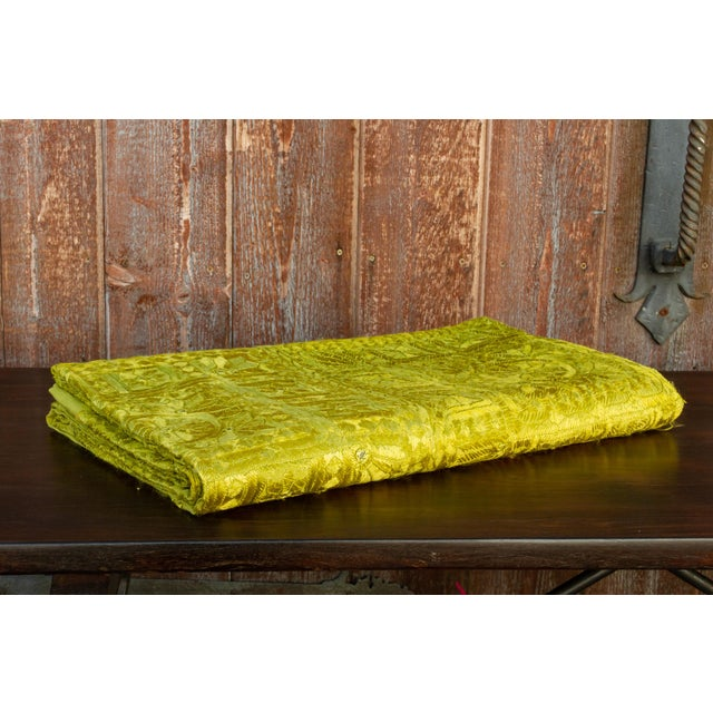 Green Green Sheesha Coverlet For Sale - Image 8 of 8