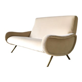 Early Marco Zanuso Designed Two Seater Sofa Circa 1950 For Sale