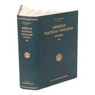 """1962 Vintage """"American Practical Navigator"""" Book"""