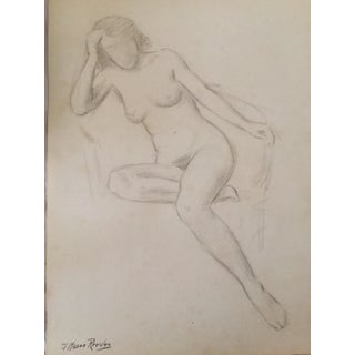 Nude Figure Study by J. Mason Reeves For Sale
