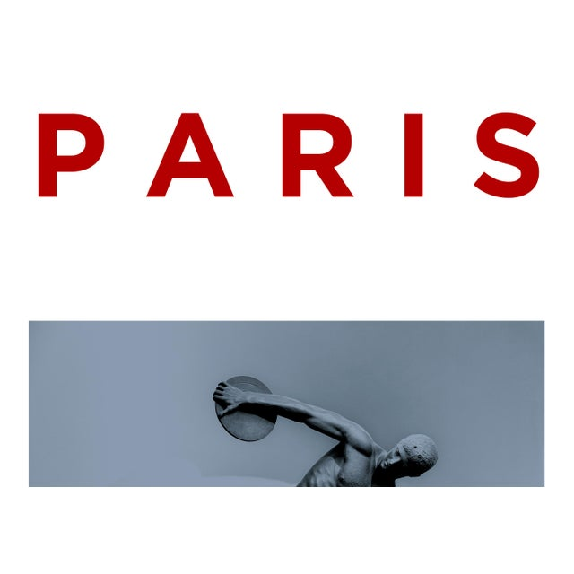 Paris 2024, a poster designed and created by Guy Sargent. Employing a combination of photography, typography and graphic...