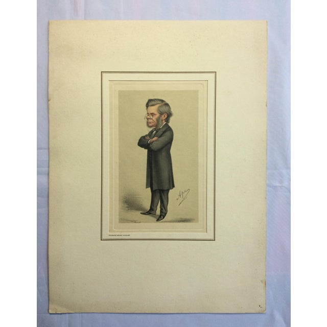 Vanity Fair Prints of Scientists for Petrolagar Laboratories - Set of 7 For Sale - Image 4 of 10