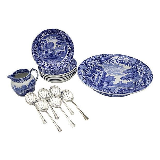 Spode Italian Fruit Set - 14 Pieces - Image 2 of 6
