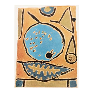 "1958 Paul Klee, First English Edition ""Coelin Fruit"" Lithograph For Sale"