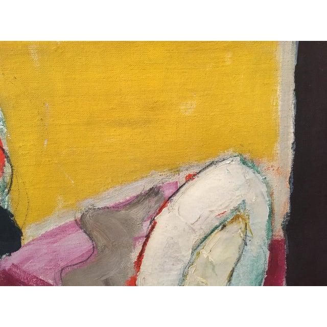 """Natura Moarta"" Abstract Still Life Painting - Image 3 of 10"