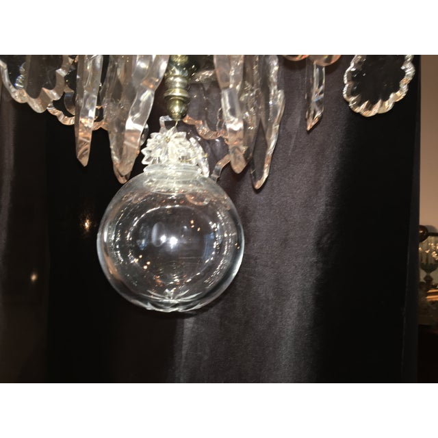 1980s Vintage Hart Crystal Arm Chandelier For Sale - Image 5 of 11