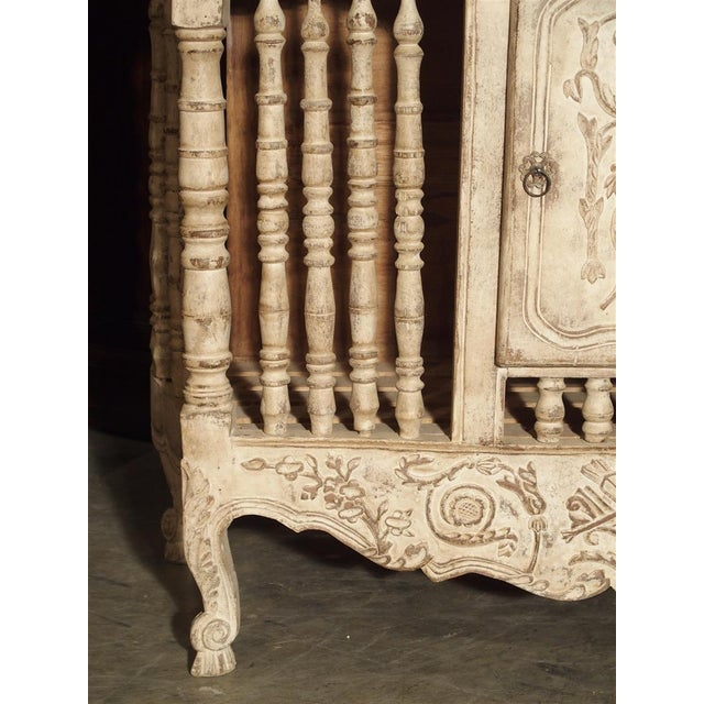 Wood Painted 19th Century Panetiere From Provence, France For Sale - Image 7 of 13