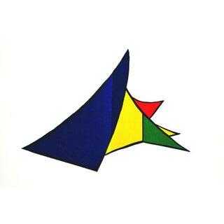 1963 Alexander Calder Original Lithograph, DM26141d, 1963 For Sale