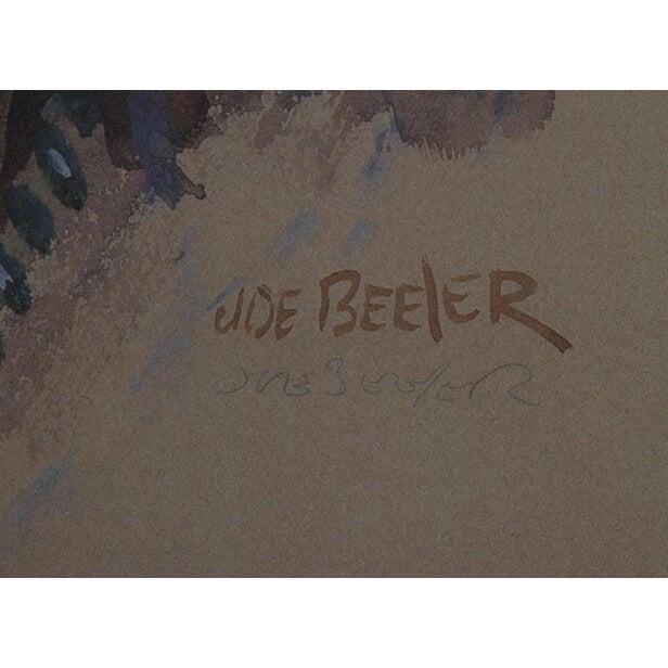 "Joe Beeler, ""Navajo,"" Lithograph - Image 2 of 2"