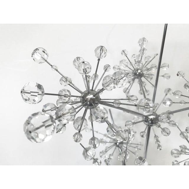 Metal Dandelion Table Lamp by Emil Stejnar For Sale - Image 7 of 10