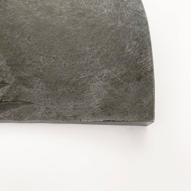 Silver Bella Feldman Abstract Sculpture, Architectonic Series For Sale - Image 8 of 13