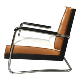 "1980s Art Deco Pauli Blomstedt ""Adelta"" Armchair For Sale"