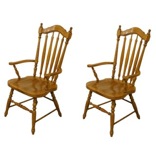 Thomasville Salem Tavern Collection Dining Arm Chairs- A Pair For Sale