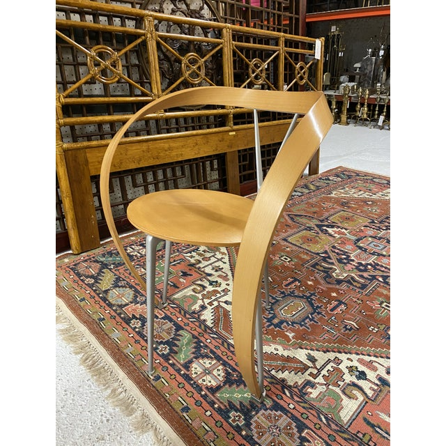 Contemporary Set of 6 Arm-Chairs Designed by Andrea Branzi for Cassina For Sale - Image 3 of 7