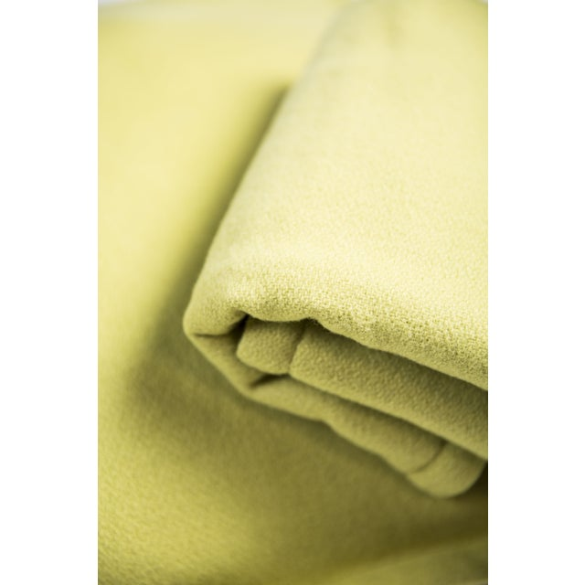Room & Board Washable Wool Shams in Chartreuse - Image 5 of 6