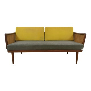 Minerva Danish Loveseat Daybed Designed by Peter Hvidt & Orla Mølgaard-Nielsen For Sale