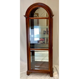 Late 20th Century Howard Miller Neoclassical Armand Curio Cabinet Preview