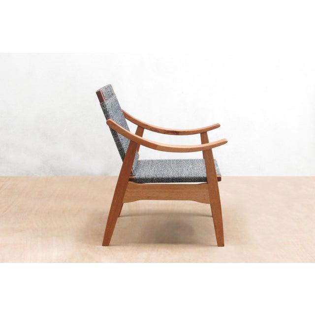 Handwoven Granito and Royal Mahogany Izapa Arm Chair - Image 3 of 6