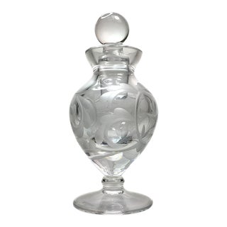 Waterford Engraved Perfume