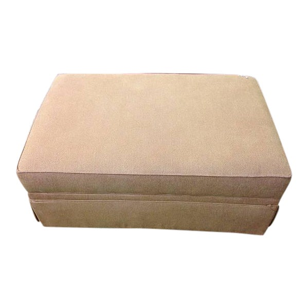Ethan Allen Storage Upholstered Ottoman - Image 1 of 3