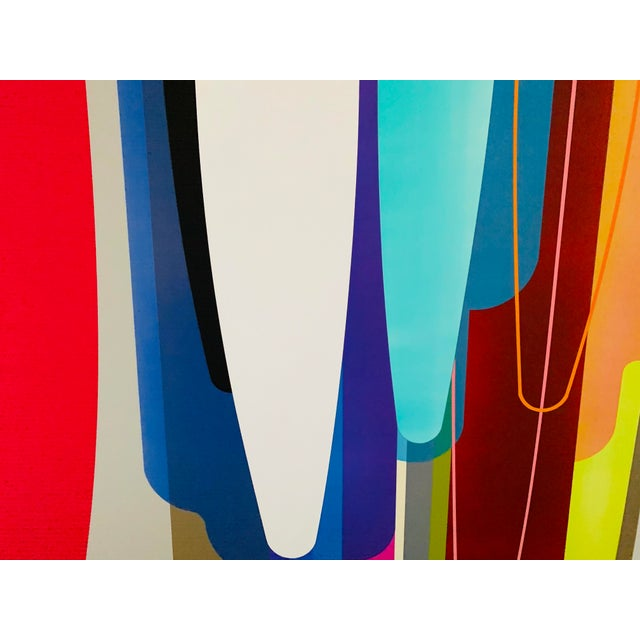 Accelerator, an Acrylic Painting by by Dion Johnson For Sale In Santa Fe - Image 6 of 9
