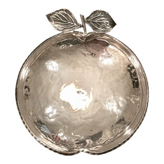 Sterling Silver Apple Bowl
