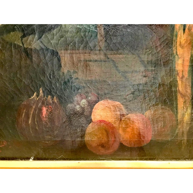 Canvas Jacob Bogdani Follower, Still Life With Parrots Oil on Canvas For Sale - Image 7 of 13