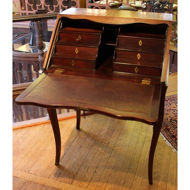 Country Country French Bonheur Du Jour Desk For Sale - Image 3 of 6