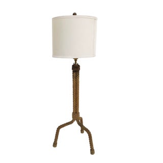 Vintage Audoux Minet Table Lamp For Sale