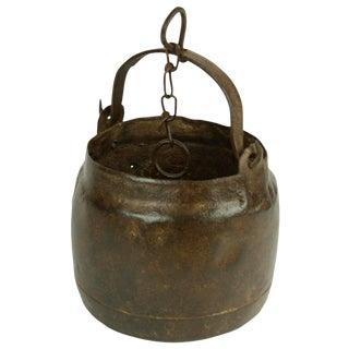 Hanging Metal Oil Pot